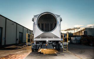 Air Intake JMS 50 Mobile Diesel Track Dust Collector