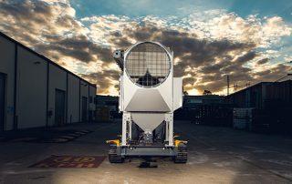 Air Intake Mobile Diesel Track Dust Collector JMS 10 MDT