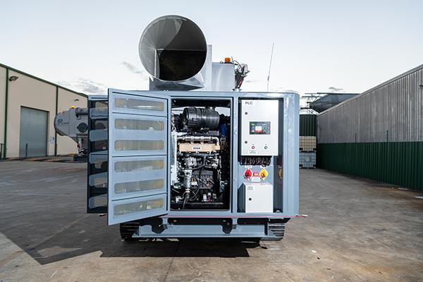 Diesel Engine Mobile Dust Collector JMS 10 MDT