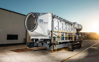 Filter Access Doors Mobile Diesel Track Dust Collector JMS 50 MDT