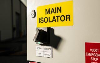 Main Isolator
