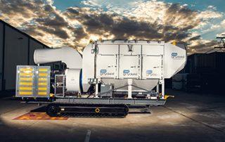 Mobile Diesel Track Dust Collector JMS 10 MDT