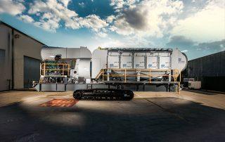 Mobile Diesel Track Dust Collector JMS 50 MDT