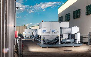 Mobile Electric Castor Wheel Dust Collectors