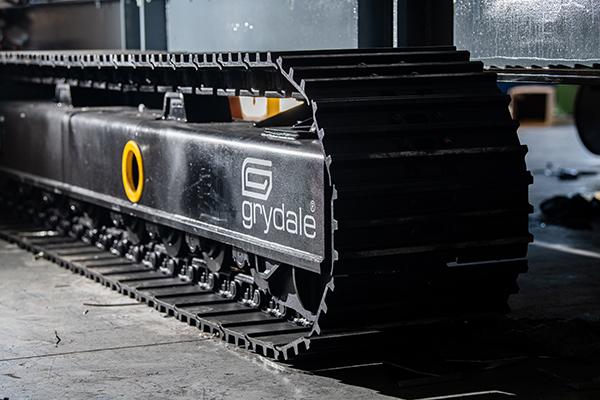 Track System on Mobile Dust Collector JMS 10 MDT