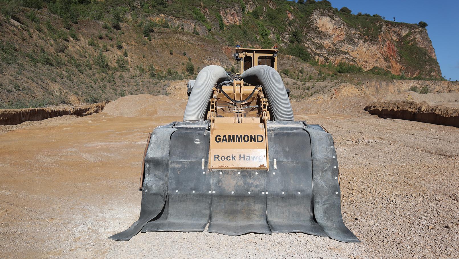 AJ Gammond Tesmec Rock Hawg Surface Miner