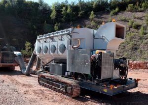 JMS-30-MDT Mobile Diesel Dust Collector